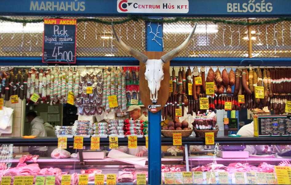 Central Market Hall Budapest