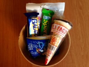 retro Hungarian sweets
