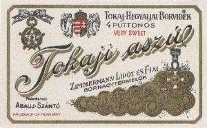 Tokaj Jewish Wine Heritage_Zimmerman_Aszu