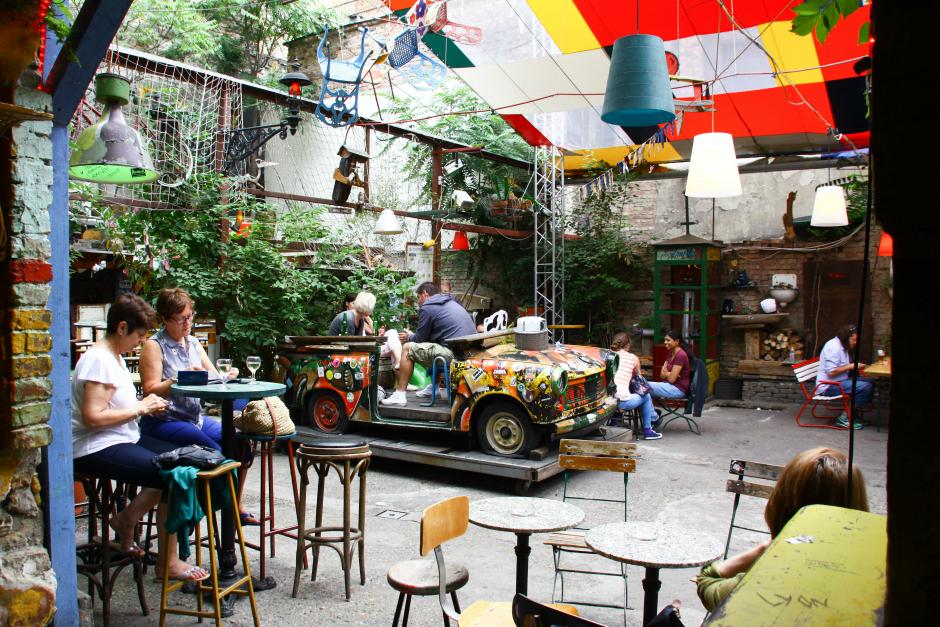 Ruin Bar Walk Taste Hungary
