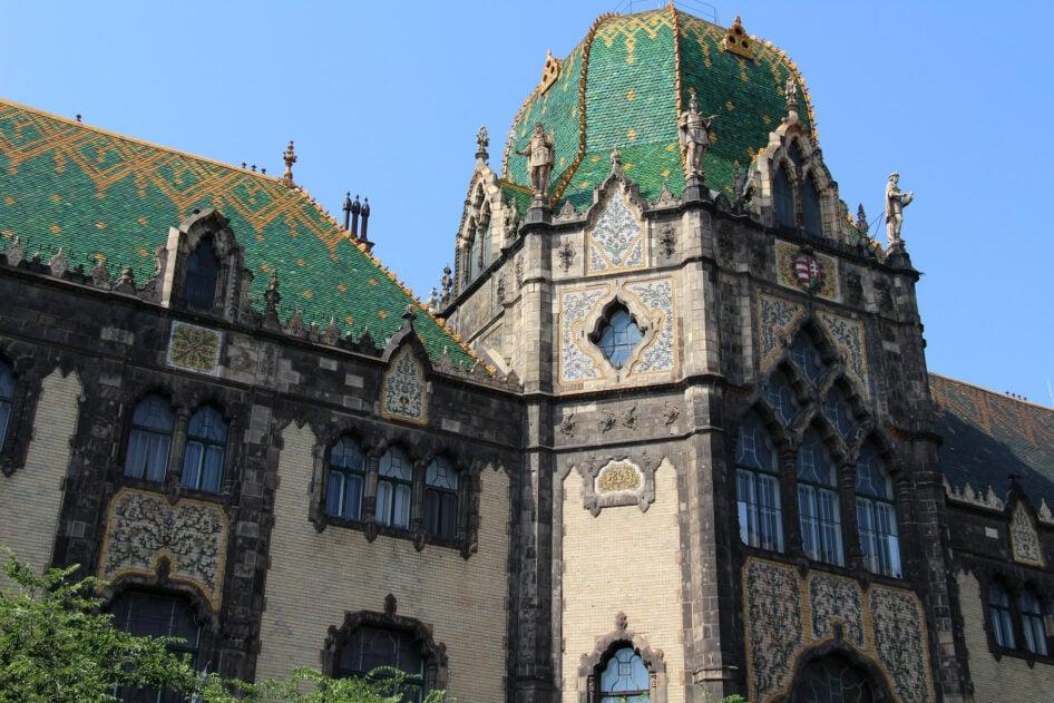 Odon Lechner S Budapest Hungary S Master Of Art Nouveau Taste Hungary